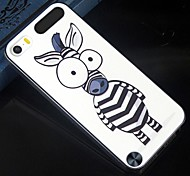 cheap -The size of the eye cartoon zebra Pattern Design Pattern Back Cover Protective Hard Case for  iPod touch 5