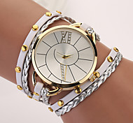 cheap -Women's Quartz Bracelet Watch Punk PU Band Bohemian Elegant Fashion Multi-Colored