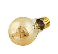 40W E26/E27 LED Filament Bulbs 3200 lm Warm White 3000 K Decorative AC 110-130 V
