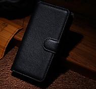 Для Кейс для Nokia Чехлы панели Кошелек Бумажник для карт со стендом Кейс для Сплошной цвет Твердый для Nokia Nokia Lumia 930
