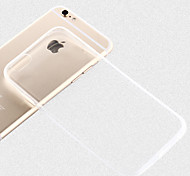 6S Super Flexible Clear TPU Case For I6 4.7inch Slim Crystal Back Protect Skin