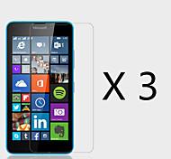 Недорогие -(3 шт) высокой четкости экран протектор для майкрософт Lumia 640