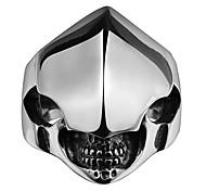 Недорогие -Муж. Массивные кольца бижутерия Титановая сталь Бижутерия Назначение Свадьба Для вечеринок Повседневные Спорт