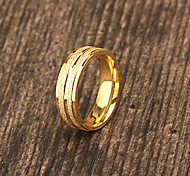 cheap -Personalized Gift Jewelry  Gold Plating Stainless Steel Engraved Men's Rings