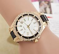 Women's Round Dial Case Alloy Watch Brand Fashion Quartz Watch Cool Watches Unique Watches Strap Watch