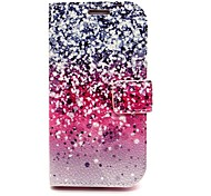 Sparkling Star Leather Case with Stand for Samsung Galaxy S6/S5/S4/S3/S3 mini/S4 mini/S5 mini/ S6 edge