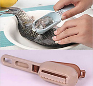 cheap -Plastic Creative Kitchen Gadget Fish Peeler & Grater