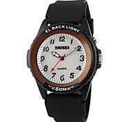 SKMEI® Men's Sporty Design LED Backlight Quartz Wrist Watch Cool Watch Unique Watch