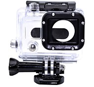 Smooth Frame Protective Case Screw Waterproof Housing Case Mount / Holder Waterproof For Action Camera Gopro 3 Gopro 3/2/1 Plastic
