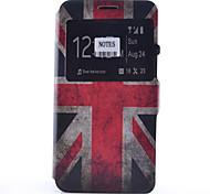 baratos -Capinha Para Samsung Galaxy Samsung Galaxy Note Porta-Cartão Com Suporte com Visor Flip Estampada Capa Proteção Completa Bandeira Macia