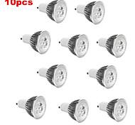 E14 GU10 GU5.3(MR16) E26/E27 Spot LED MR16 3 diodes électroluminescentes LED Haute Puissance Décorative Blanc Chaud Blanc Froid 3000/6500