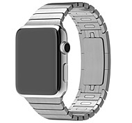 baratos -Pulseiras de Relógio para Apple Watch Series 3 / 2 / 1 Apple Watch Series 3 Apple Tira de Pulso borboleta Buckle Metal