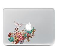 Недорогие -сороки цветы декоративные наклейки кожи для MacBook Air / Pro / Pro с сетчатки дисплей