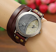 Women's Watches Vintage Digital Eiffel Tower Leather Quartz Bracelets Watches Cool Watches Unique Watches Strap Watch