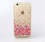 MAYCARI®Paved with Love Transparent TPU Back Case for iPhone 5/iphone 5s