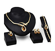 Women's Jewelry Set Vintage Cute Party Work Casual Link/Chain Fashion Statement Jewelry Party Special Occasion Anniversary Birthday Gift