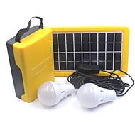 D007 Lanternes & Lampes de tente LED 110 Lumens 1 Mode - Rechargeable pour Camping/Randonnée/Spéléologie Voyage Multifonction