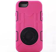 Недорогие -Кейс для Назначение Apple iPhone 6 iPhone 6 Plus Защита от влаги Защита от пыли Защита от удара со стендом Кольца-держатели Чехол броня