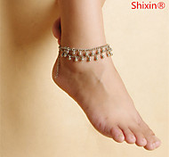 cheap -Anklet - Unique Design, European, Simple Style Silver For Casual / Women's
