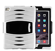 abordables -antichoc robuste armure hybride mince couverture de cas pc + Housse en silicone pour iPad 2 d'air (de couleur assortie)