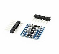 abordables -jy-MCU 5v 3v IIC niveau de spi UART 4 voies module convertisseur adaptateur