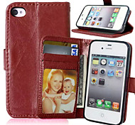 cheap -High Quality PU Leather Wallet Mobile Phone Holster Case For iPhone 7 7 Plus 6s 6 Plus SE 5s 5 4s 4