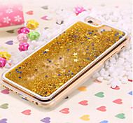 Deluxe Quicksand Bling Star Crystal PC Transparent Hard Back Cover for iPhone 4/4S(Assorted Colors)
