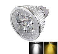 economico -YouOKLight 400 lm GU5.3(MR16) Faretti LED MR16 4 leds LED ad alta intesità Oscurabile Decorativo Bianco caldo Luce fredda DC 12V