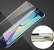 Недорогие -царапинам сфера полный охват HD отпечатков пальцев доказательство стали мягкими стеклянной пленки для Samsung Galaxy S6 края +