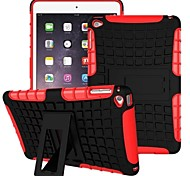 cheap -Case For iPad Air Shockproof with Stand Back Cover Armor PC for iPad Air