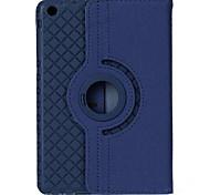 preiswerte -Hülle Für iPad Air mit Halterung Automatischer Ruhe / Aktivmodus Origami 360° Drehbar Ganzkörper-Gehäuse Volltonfarbe PU-Leder für iPad
