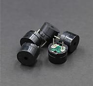 Недорогие -DIY пассивного электромагнитного набор зуммер - черный (5 шт)