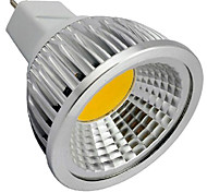 4W GU5.3(MR16) Точечное LED освещение MR16 1 светодиоды COB Декоративная Тёплый белый Холодный белый 320lm 3000/6500K DC 12V