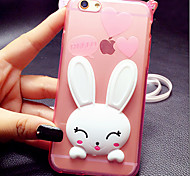 ТПУ кролика кронштейн оболочка для iphone6 / iPhone 6s