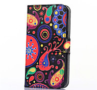 cheap -Case For Samsung Galaxy Samsung Galaxy Case Card Holder Wallet with Stand Flip Pattern Full Body Cases Cartoon PU Leather for On 7 On 5