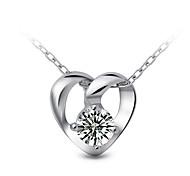 (кулон ожерелье +) Серебряный сет шнека Серебряный кулон S925 серебряные ювелирные изделия ожерелье