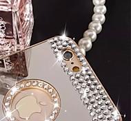 чистый алмаз ручной светит алмаз зеркало чехол для Iphone 6 плюс / 6с плюс (ассорти цветов)