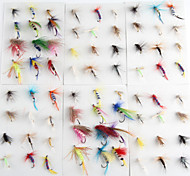 Anmnka 72 pcs/set Various Dry Fly Hooks Dry Flies  1g   Fly Fishing