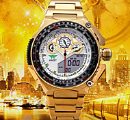 cheap -Men's Digital Watch / Military Watch / Sport Watch Japanese Alarm / Calendar / date / day / Water Resistant / Water Proof Stainless Steel