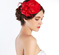 Women's Fabric Headpiece-Wedding Special Occasion Outdoor Hats