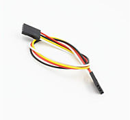 Dupont 4-Pin 2.54mm Female to Female Extension Wire Cable for Arduino-(20CM)