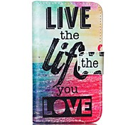 Sea Life Painted PU Phone Case for Galaxy S2 I9100 Galaxy S Series Cases / Covers