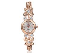 Montre Femme New Quartz Watch Women Ladies Fashion Wrist Watches Flower Bracelet Watch Wristwatch Clock Quartz Watch Cool Watches Unique Watches
