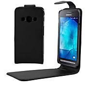 Für Samsung Galaxy Hülle Flipbare Hülle Hülle Handyhülle für das ganze Handy Hülle Einheitliche Farbe PU - Leder SamsungYoung 2 / Xcover
