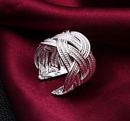Недорогие -Женский Классические кольца Регулируется бижутерия Стерлинговое серебро Бижутерия Назначение Свадьба Для вечеринок Повседневные
