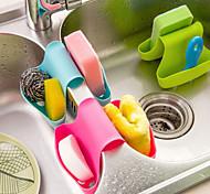 Multifunction Kitchen and Bathroom Drain Saddle Shaped Bracket (Random Color)