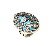 Недорогие -Кольца Мода Для вечеринок Бижутерия Серебрянное покрытие Женский Массивные кольца 1шт,Стандартный размер Золотой