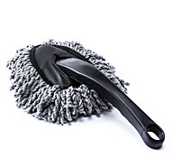 cheap -Car Duster Cleaning Dirt Dust Clean Brush Dusting Tool Mop Gray