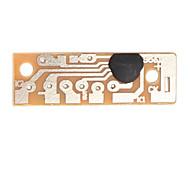 baratos -módulo de alarme kd9561 ck9561 kit DIY 4 tipo de som para arduino