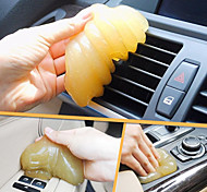 cheap -ZIQIAO Magic Car Vent Air Outlet Storage Box Panel Door Handle Dust Glue Cleaner Tool For(Random Color)